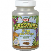 Dino Colostrum Choco Kal, 60 dinosaurios masticables