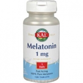 Melatonin 1 mg Kal,  120 comprimidos