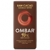 Chocolate Negro 90% Crudo Bio OMBAR 35 g