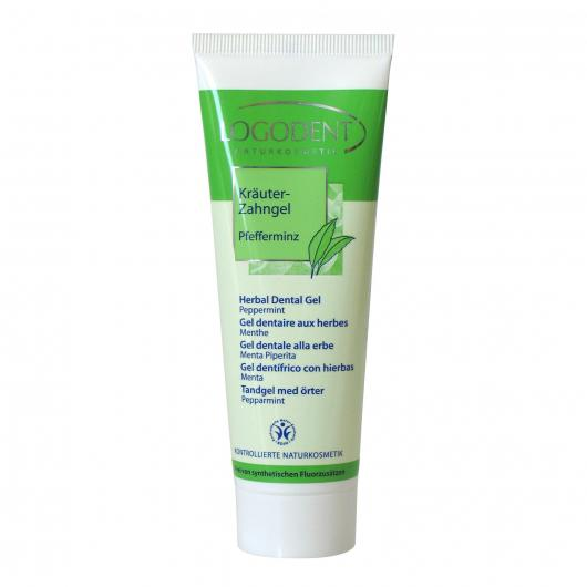 Gel dentifricio con erbe Logona, 75ml