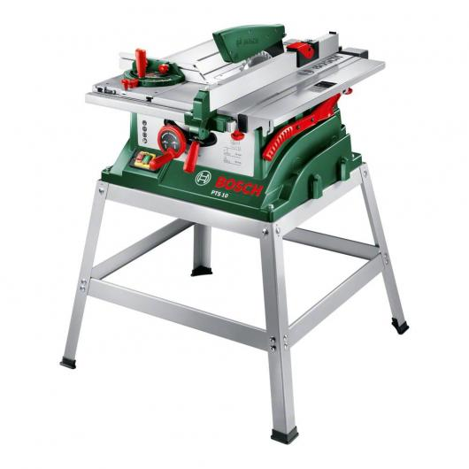 Scie à onglet BOSCH PTS 10 + table