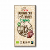 Chocolate negro 56% SOLÉ, 100g