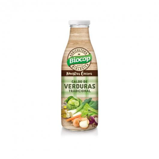 Bouillon de légumes traditionnel BIOCOP 1 L