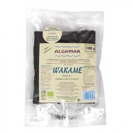 Algue Wakame ALGAMAR, 100 g