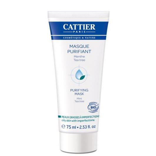 Maschera purificante Menta-Tè Cattier, 75 ml