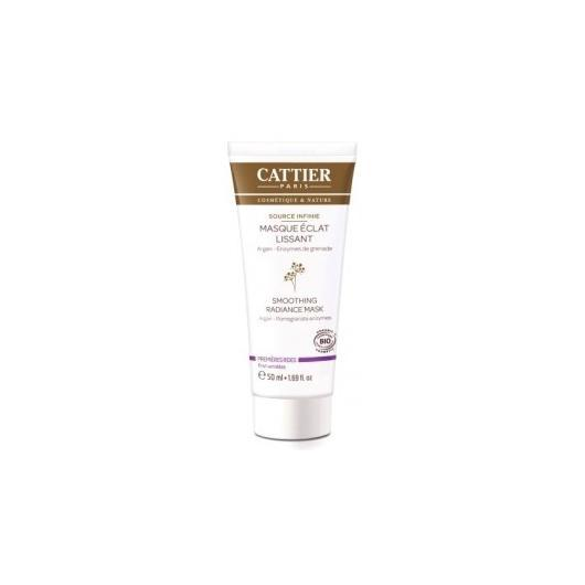 Mascarilla Luminosidad Alisante Cattier, 50ml