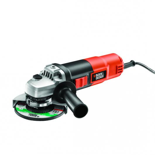 Rebarbadora 900W y ø115mm + mala Black&Decker