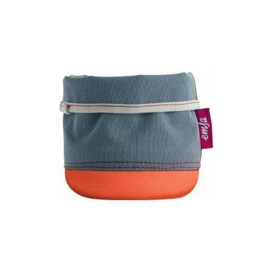 Maceta Textil Soft Bag 15cm Naranja
