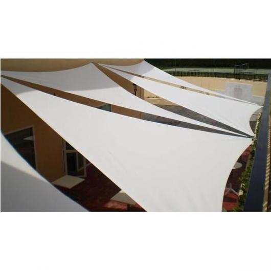Voile d'ombrage blanc Sail