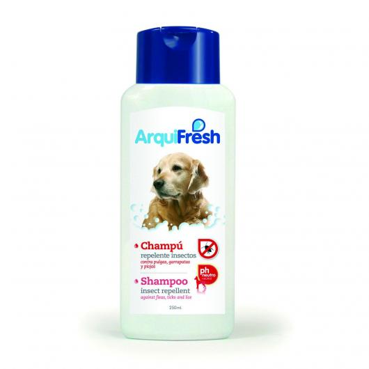 Shampooing anti-insectes pour chiens, 250 ml