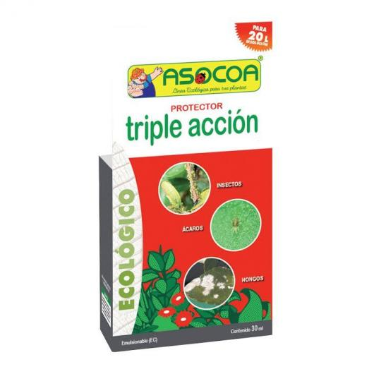 Triple acción concentrado ecológico 30ml