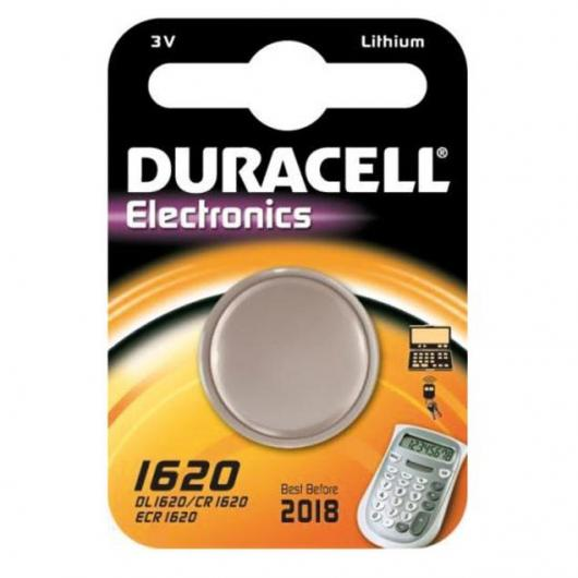 Pila bottone litio CR1620 3 V Duracell