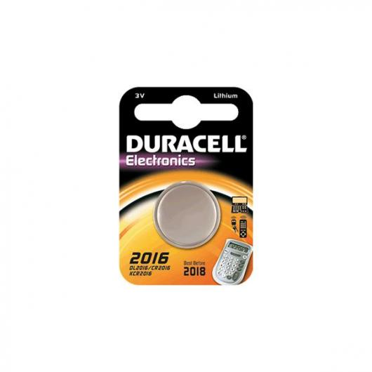 Pila bottone litio CR2016 3 V Duracell