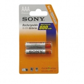 Pile rechargeable Ni-Mh avec blister HR06 2500 m 2 pièces Sony