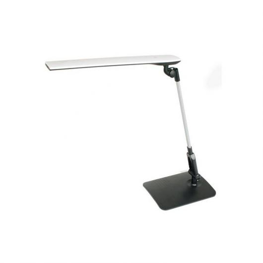 Lámpara de estudio LED Young extensible y plegable Negro Duolec