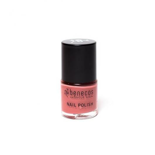 Vernis à ongles Rose passion Benecos, 9 ml