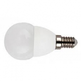 Ampoule LED mini globe 4 W E27 blanc chaud