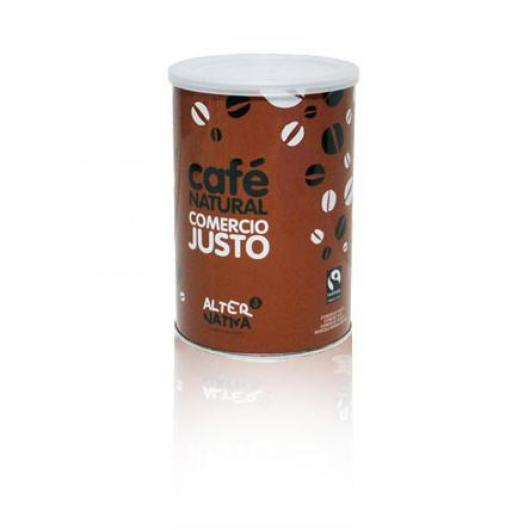 Caffè naturale macinato in latta Alternativa, 250gr